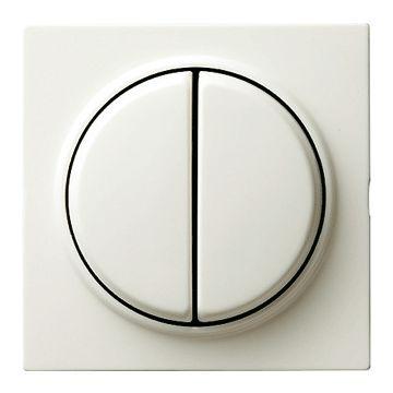 Gira S-Color 2-voudig kunststof bedieningswip, wit