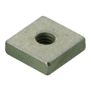 Caddy schuifmoer vierkant CADDY VKM, staal, draadmaat (M.) 8, elektrolytisch verzinkt