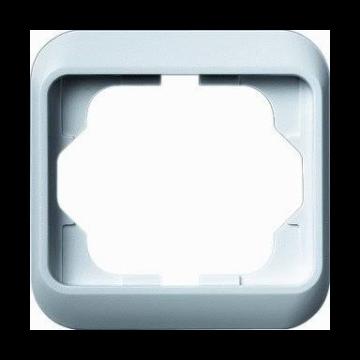 Busch-Jaeger Alpha Nea afdekraam verticaal 1-voudig, studiowit