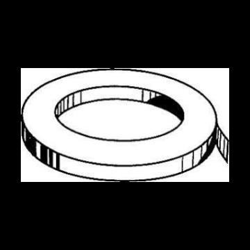 Stokvis zelfklevende tape glasv, creme/wit, (lxb) 33mx12mm, UV-bestendig