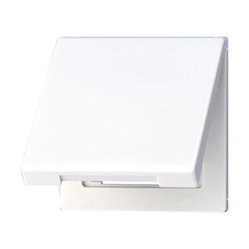 JUNG LS990 overgangsafdekplaat zuiver, wit