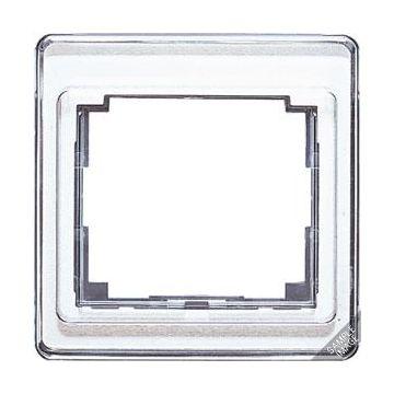 JUNG SL500 afdekraam glas, wit, (bxhxd) 85x227x9.5mm