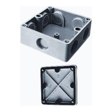Kaiser Martin doos voor montage op wand/plafond 500, max. 2.5mm², vierkant, universeel