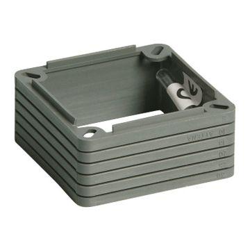 Attema verhogingsrand centr-/inb ds, 73mm, nivelleerhoogte 30mm, vierkant