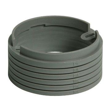 Attema verhogingsrand centr-/inb ds, 85mm, nivelleerhoogte 30mm, rond