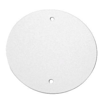 Corodex deksel voor doos in wand/plafond, kunststof, wit, diam 110mm, di 5mm