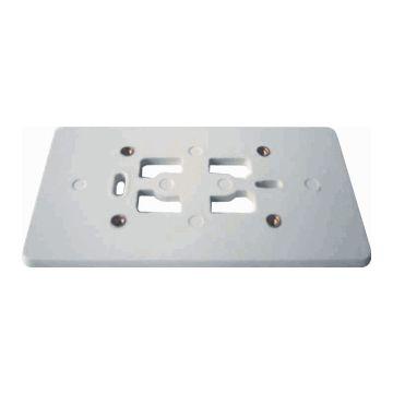 Corodex bod pl kunststof, creme/wit/elektrowit, uitvoering 2-voudig