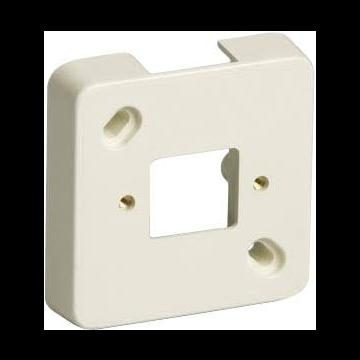 Attema mont pl leid kan enkel ME25, kunststof, creme/wit, RAL-nummer 1013