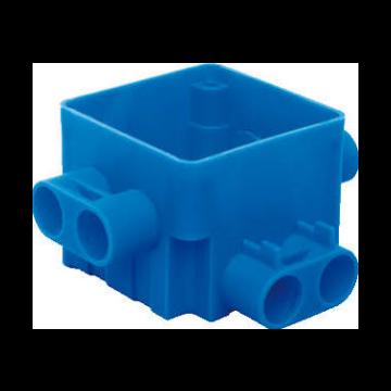 ABB hafobox 165A centraaldoos ongelijke spruit 110x110x58cm, blauw