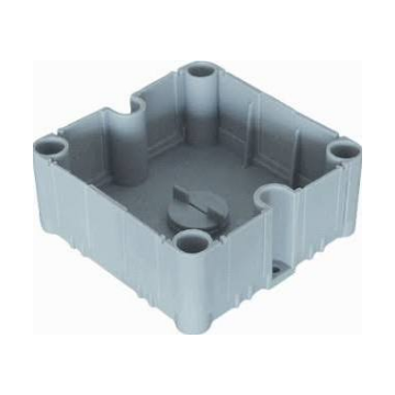 ABB universele kabeldoos onderbak 95x95x45mm, grijs