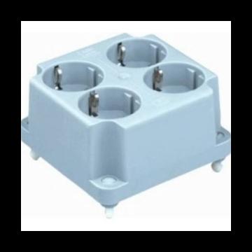 ABB deksel voor doos op wand/plafond 3640 W, kunststof, grijs