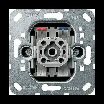 Gira Basisunit installatieschakelaar metaal, materiaal eigen kleur, type schakelaaring