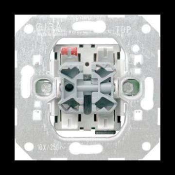 Gira jaloezieschakelaar Basisunit, basiselement, uitvoering 1-p schakelaar 2wippen