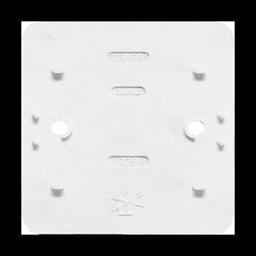 JUNG AP600 bod pl kunststof, wit, uitvoering 1-voudig