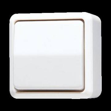 JUNG AP600 installatieschakelaar kunststof, grijs, schakelaar wiss schakelaar