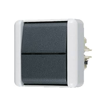 JUNG WG800 installatieschakelaar kunststof, grijs, schakelaar kr schakelaar