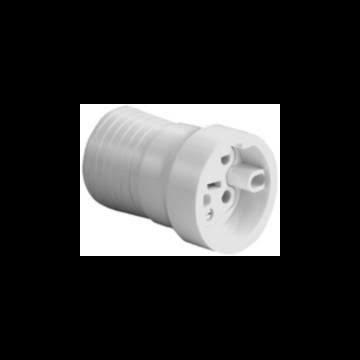 ABL Sursum perilex koppelcontactstop Perilex, duroplast, wit, nom. str 16A