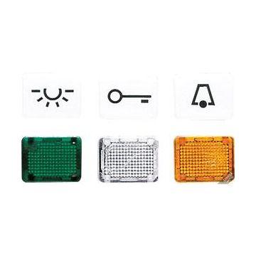 JUNG WG600 ind mat basis element CD/AP/wit, uitvoering symbolen