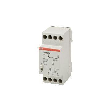 ABB beltransformator Hafonorm, 80x50x85mm, prim 230V, sec 1 8V