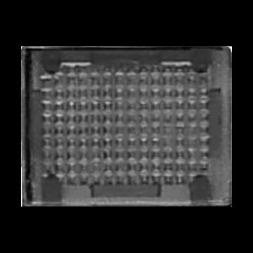 JUNG WG600 ind mat basis element CD/AP/WG600+800, rood, uitvoering symbolen