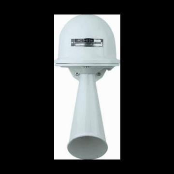 Grothe signaalhoorn Signaalhoorn 230V, behuizing wit, behuizing kunststof