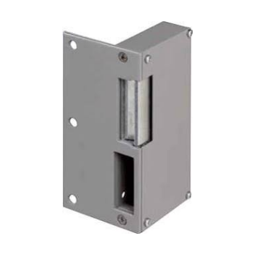 Assa Abloy electrisch deurslot, uitvoering standaard deuropener, vorm slotplaat vlak