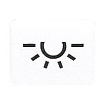 JUNG WG600 ind mat basis element CD/AP/alpinwit, uitvoering symbolen