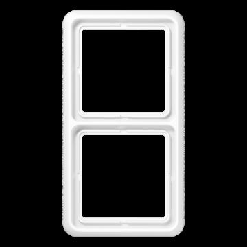 JUNG CD500 afdekraam kunststof, wit, (bxhxd) 81x152x9.85mm