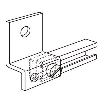 Eaton afstandsteun hal, staal, thermisch verzinkt, op frame