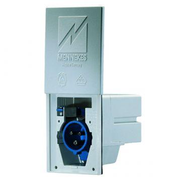 Mennekes cee-toestelcontactdoos Cara-Contact bl, kunststof, IEC-str st 16A