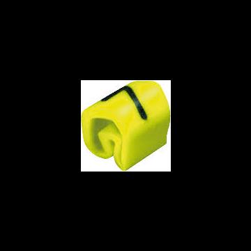 Weidmüller kabel-/adercod CLIC CLIC1-3, kunststof, geel, le 3mm, 5mm