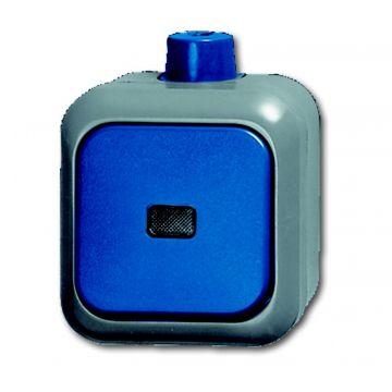 Busch-Jaeger Busch-duro 2000 WDI wipcontroleschakelaar wissel, blauw