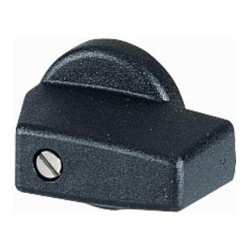 Eaton keuzeschakelaar frontelement T, 2 standen, uitvoering bedieningselement drukknop bedieningselement, zwart