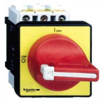 Schneider Electric Vario hoofdschakelaar 63A rood-geel