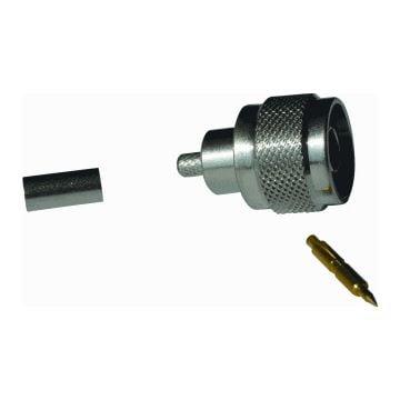 Radiall coax kabel connector plug (steker) N, kabelsoort coax 6-coax 6