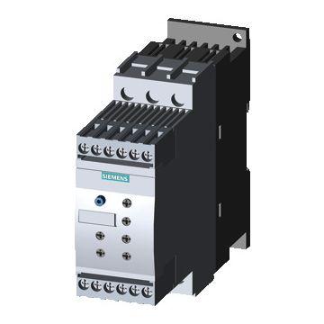 Siemens soft starter 3RW4, nom. bedrijfsstroom Ie bij 40 °C Tu 12.5A