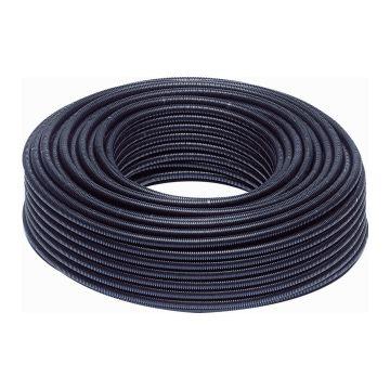 Wavin kunststof buis geribbeld Flex, PVC, zwart, uitwendige buisdiameter 16mm, wand 2mm