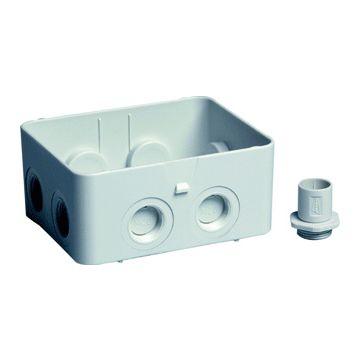 Attema Cable-mate onderbak ak2 IP65 12x4cm, grijs