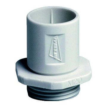 Attema kabel-/bs inv st inv st AK2, voor kab ds, voor buisdiameter 16mm, 1 buisinvoer