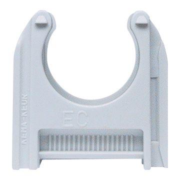 Schnabl kabelbuisklem EC, kunststof, grijs, voor buisdiameter 17.6-18.6mm