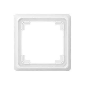 JUNG CD Plus afdekraam kunststof, wit, (bxhxd) 84x84x8.6mm