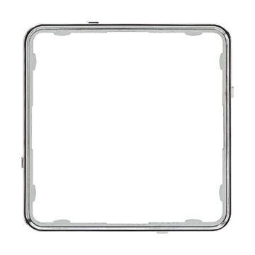 JUNG CD Plus sierrand kunststof, chroom, uitvoering applicatielijst