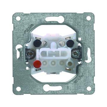 PEHA Concept45 wandcontactdoos 2-voudig kunststof, wit, uitvoering ra