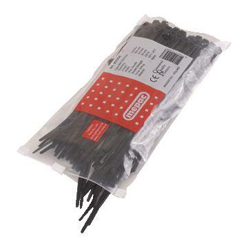 Mepac kabel bu bnd binnenvertand BPA, kunststof, zwart, bandbreedte 2.5mm