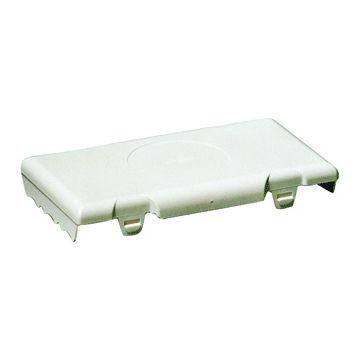 Attema deksel voor doos op wand/plafond BK1619, kunststof, wit