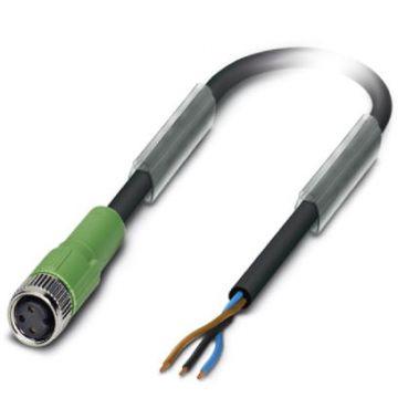 Phoenix Contact sensor/actorkabel met connector SAC, 3 polen, uitv. elektrisch aansluiting