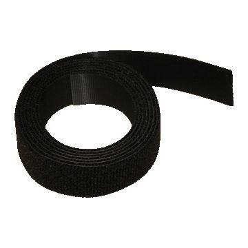 Thomas & Betts klittenband dubbelzijdig Alfatex, zwart, br 16mm, paddestoel/velours
