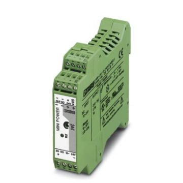 Phoenix Contact voed trafo MINI, prim 2 10-32V, 1e sec nom. 24V, 1 fasen