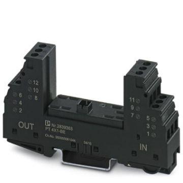 Phoenix Contact basis element voor overspann.-afleider PT, omegarail 35mm
