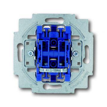 Busch-Jaeger wip-impulsdrukkersokkel 2 x 1-polig, 2 maakcontact (NO)